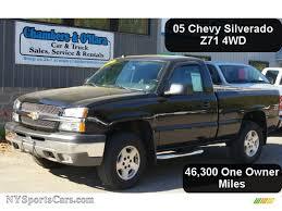 2005 Chevrolet Silverado 1500 Z71 Regular Cab 4x4 in Black ...