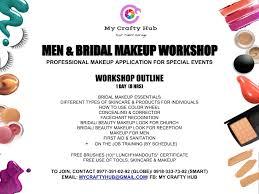 men bridal makeup work