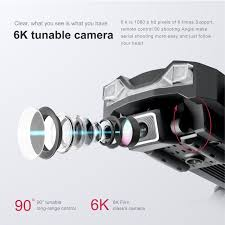 BỘ 2 PIN) - TẶNG TÚI ĐỰNG - Flycam mini 6K, Flycam LSRC LS25 Camera 6K,  Định vị GPS - WIFI 5G truyền ảnh trực tiếp về điện thoại, thời gian bay