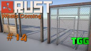 rust what s coming building frames cell doors chain link double doors 14 rust news updates you