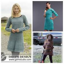 Knit Dress Pattern Fascinating Sweater Knitting Is Great So How About A Sweater Dress Knitting