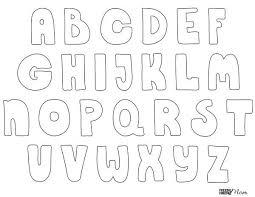 Bubble Letters Font Free Printable Bubble Letters Crafts For Kids Bubble Letters