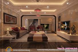 best modern living room designs:  endearing interior design of living room dining room and kitchen home kerala designer living
