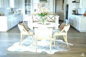 small cowhide rug brown and white faux cowhide rug black silver fake furniture surprising get the