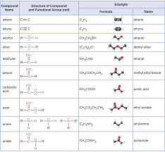 For Each Of The Functional Groups Complete The Chart 20 4 Amines And Amides Chemistry