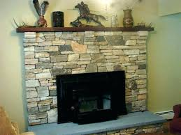 stacked stone fireplace ideas with regard to faux throughout dry