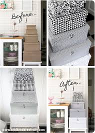 diy decorated storage boxes. Upcycled Shoe Boxes For Pretty Storage | DIY Pinterest Box, Organizing And Upcycling Diy Decorated N
