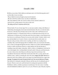 essay ideas 1984 essay ideas
