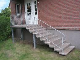 Einen sicheren hauseingang oder die außentreppe ins obergeschoss gestalten sie mit einer geräumigen und stabilen podesttreppe aus stahl, die sie als montagefertigen bausatz. Hauseingang In Baugewerbe Treppen Gelander Gunstig Kaufen Ebay