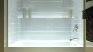 one piece bath and shower unit one piece bathtub and surround one piece tub shower unit