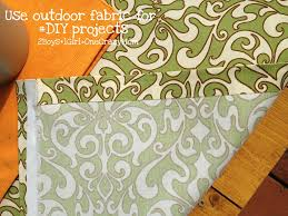 Diy Outdoor Projects Simple Diy Outdoor No Sew Fabric Projects 2 Boys 1 Girl One