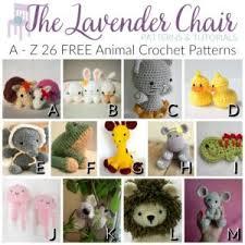 Crochet Animal Patterns Magnificent AZ 48 FREE Animal Crochet Patterns The Lavender Chair