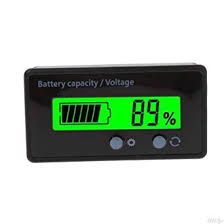 amiciSense 8-70V LCD Acid Lead Lithium <b>Battery Capacity Indicator</b> ...