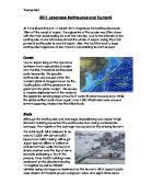 earthquakes in medc s and ledc s gcse geography marked by  2011 ese earthquake and tsunami causes and effects