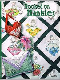 Handkerchief doll | doll pattern for kids. This incomparable ... & Quilt Pattern Book Hooked on Hankies Handkerchief Hanky Quilts Patterns 2005 Adamdwight.com