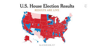 U S House Election Results 2018 The New York Times