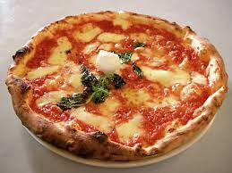 neapolitan pizza margherita culture of italy from round table