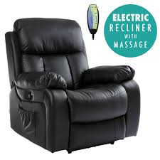sofa and chair. Exellent Chair CHESTERELECTRICHEATEDLEATHERMASSAGERECLINERCHAIRSOFA Throughout Sofa And Chair
