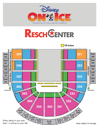 Disney On Ice Xl Center Seating Chart 34 Actual Valley View Casino Center Seating Chart Seat Numbers