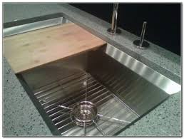 Sink With Cutting Board Kitchen Sink With Sliding Cutting Board Kitchen Set Home