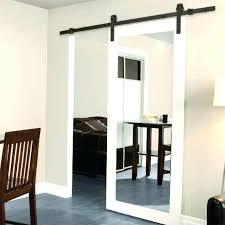 sliding closet door guides door with mirror sliding mirror closet door guides hanging door mirror with