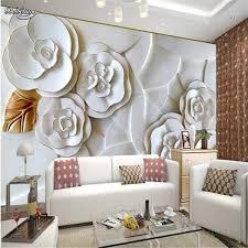 ซอทไหน Custom Photo Wallpaper Embossed Wall Paper Painting