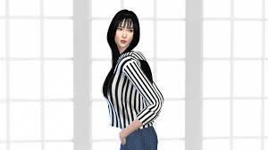 Rate my sim 1-10, how much this resembles Krystal? - Random - OneHallyu