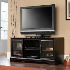 Sauder Tv Cabinet Sauder Select Estate Black Panel Tv Stand 412701