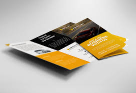 Car Dealer And Services Trifold Brochure Free Psd | Psdfreebies.com