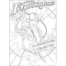Indiana Jones Coloring Pages Image Printable Chronicles Network