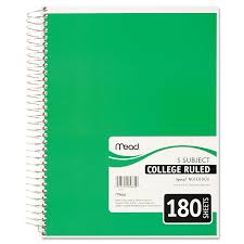 Amazon Com Mead 05682 Spiral Bound Notebook Perforated College