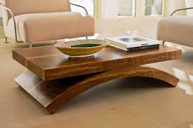 furniture coffee tables contemporary  solid wood coffee table