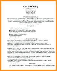 Physical Therapy Resume Enchanting 6060 Physical Therapist Resumes Examples Cvdata