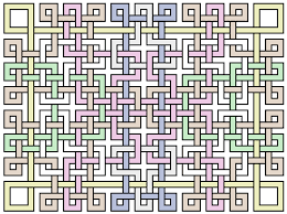 patterns to draw on graph paper ned batchelder lattice drawings