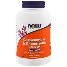 Now Foods, Glucosamine & Chondroitin with MSM, <b>180 Capsules</b> ...