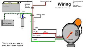 auto gauge tach wiring diagram vdo gauge wiring diagram \u2022 wiring how to install a tachometer on a chevy 350 at Wiring Diagram Tachometer