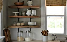 Kitchen Wall Shelving Kitchen Shelving With Simple Design The Kitchen Inspiration