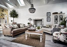 modern country inspired interior
