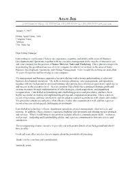 Senior Manager Cover Letter Awesome Senior Marketing Manager Cover ...