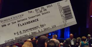 The Tobin Center Seating Chart Review Flashdance The Musical October 20 2015 Tobin