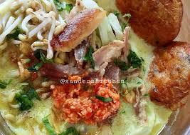 1/2 sendok teh ketumbar, sangrai Resep Soto Ayam Medan Anti Gagal Kreasi Masakan