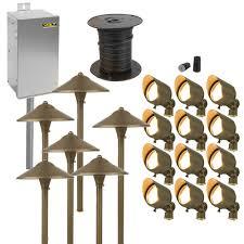 lighting lowge outdoor lighting kits home depot paa kitslow led 95 impressive low voltage outdoor lighting