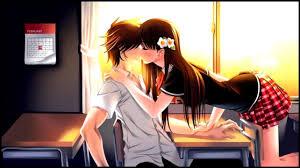 Anime Kiss Wallpaper Images