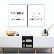 inspirational office decor. Crafty Motivational Wall Art Or Office Decor Medium Size Of Poster Inspirational Canvas Quotes Uk E