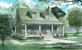 small cottage house plans with porches