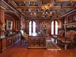 traditional home office. traditional home office with arched window chandelier crown molding box ceiling built