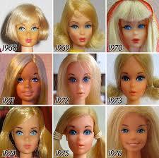 di tahun 60 an barbie mengadopsi penilan dan a dandan aktris aktris era golden age macam marylin monroe dan elizabeth taylor terlihat dari rambut