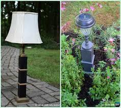 diy solar inspired solar light lighting ideas diy recycled solar light lamp tutorial