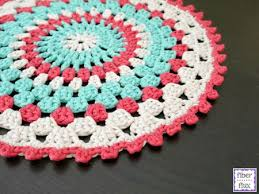 Free Crochet Placemat Patterns Impressive 48 Free Crochet Placemat Patterns