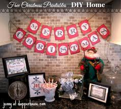 Diy Free Printables Merry Christmas Banner And Pics Tutorial